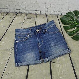 Quan short jeans cho be gai phoi tui nho