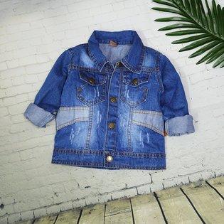 Ao khoac jeans cho be 1-10 tuoi wash nhe phoi tui