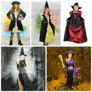 Quan Ao Hoa Trang Halloween Cho Be Gai (4-6 Tuoi)