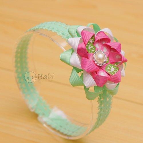 Bang do tre em hoa dinh hat cao cap (san pham handmade)