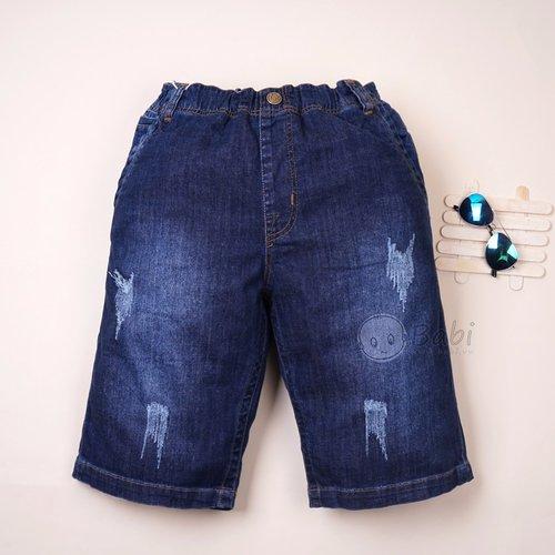 Quan jeans lung cho be trai size dai (13-14 tuoi)