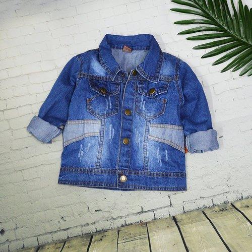 Ao khoac jeans cho be 1-10 tuoi wash nhe mix tui