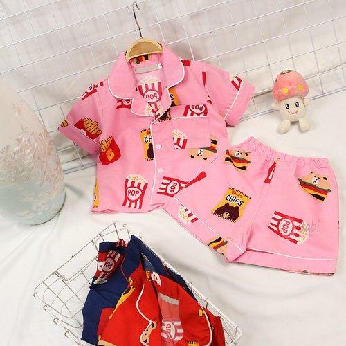 Bo Pijama Cho Be Gai Sieu De Thuong