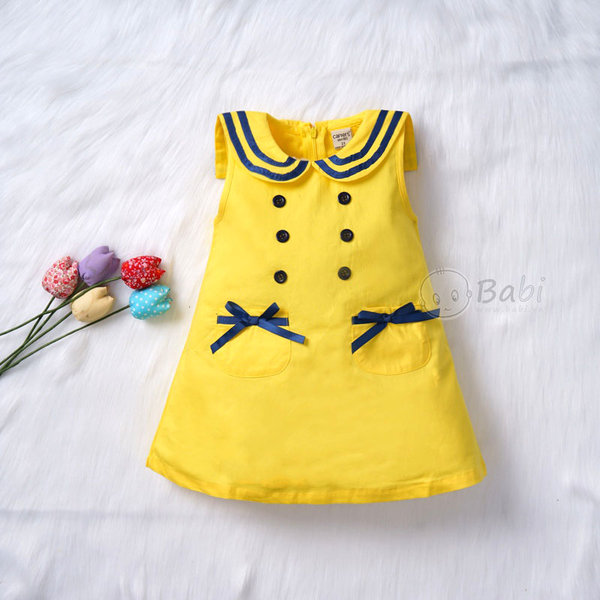 Váy sát nách là sự lựa chọn hàng đầu cho bé