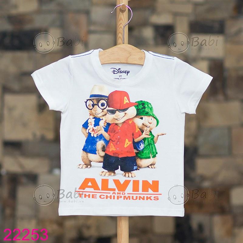 ... Ao thun be trai hinh 3 chu soc ALVIN 4 ...