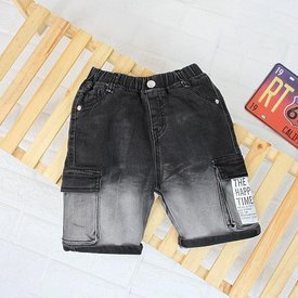 Quan Jeans Lung Cho Be Trai Wax Mau Nang Dong (3 - 11 tuoi)