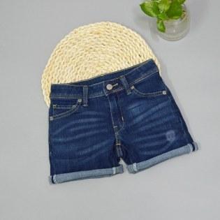 Quan short jeans cho be gai tui nho thoi trang