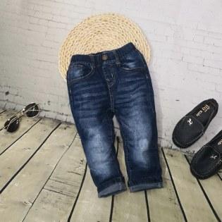 Quan Jeans Dai Cho Be Trai 1 Tuoi -10 Tuoi Phoi Tui Wash Nhe