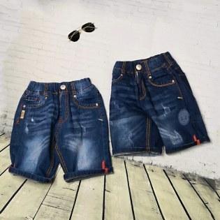 Quan Jeans Lung Cho Be Trai Vien Vai Mau Ca Tinh (15-35kg)
