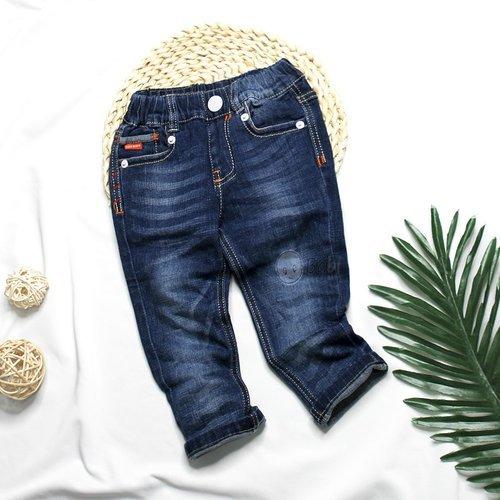 Quan Jeans Dai Be Trai 2-9 Tuoi Phoi Tui Nho Chi Mau Sanh Dieu