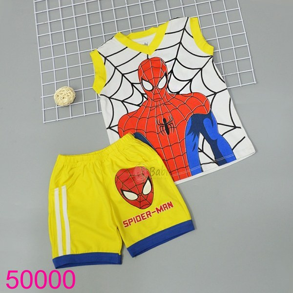 Bộ Spiderman màu vàng