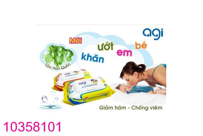 Khan giay uot Agi Han Quoc khong mui (80 mieng) 1