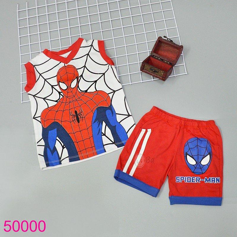 Bộ Spiderman màu đỏ