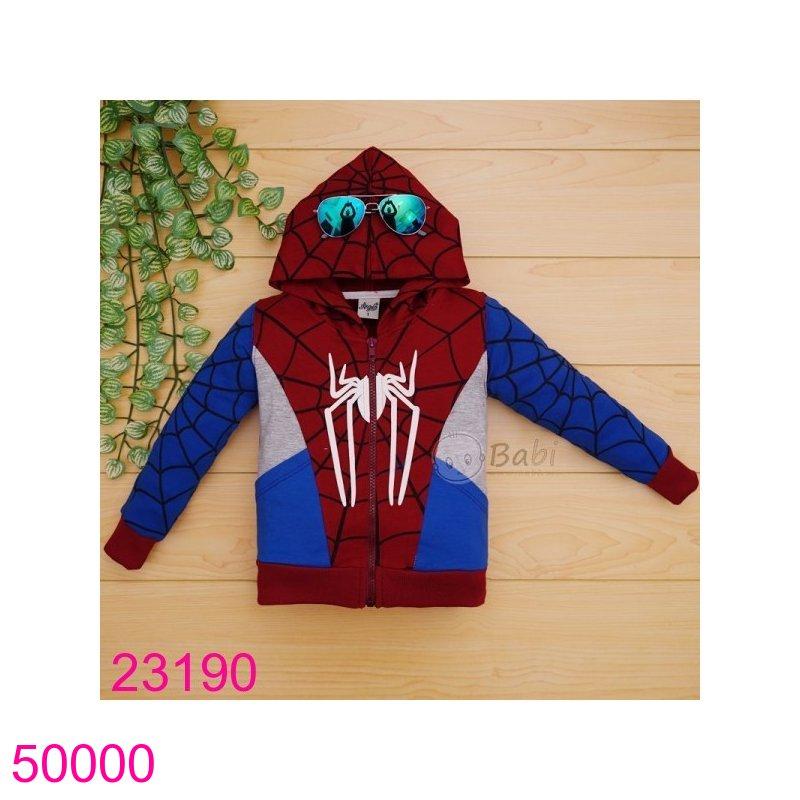 Áo khoác nhện đỏ - xanh dương