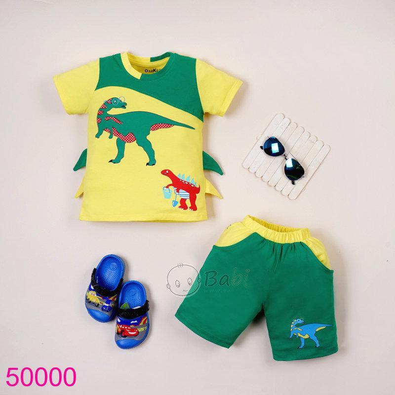 Bộ khủng long xanh lá