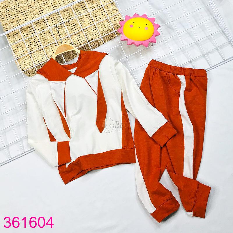Trắng - đỏ cam